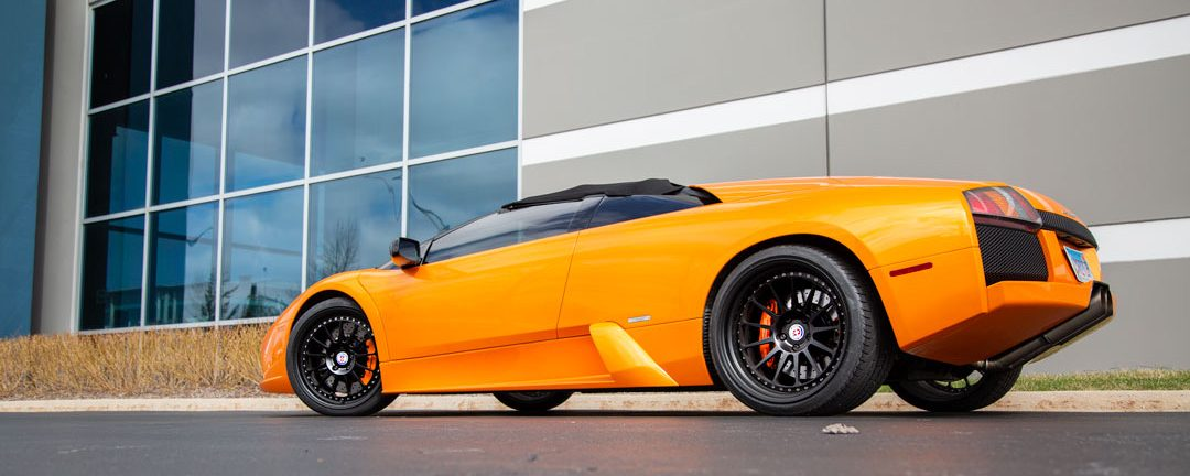 2006 Lamborghini Murcielago on HRE Classic 303 in Satin Black - Rogue Wheels Distribution