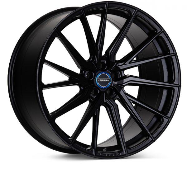 Main Vossen HF4-T Satin Black Hybrid Forged Series